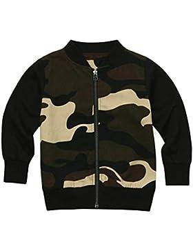 Baby Jacke Huhu833 Baby Mantel, Baby Mädchen Jungen Camouflage Print Tops Freizeitkleidung Mantel