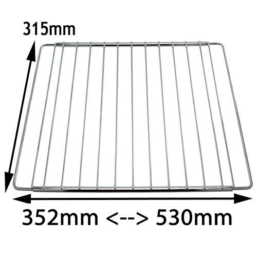 Universal Gitter/-Ablagefach, verchromt, verstellbar, für Kühlschrank/Gefrierschrank