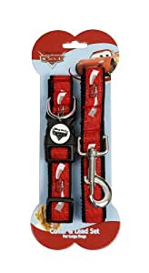 Disney Cars Collar and Lead Set for Puppy/ Toy Dog