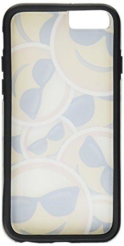 """iPhone 6 6s Plus 5.5"""" Case, True Color® Emoji Kuss Glänzend Herz 3D gedruckd Hybrid Hartschale + Soft TPU Bumper beständige Schutzhülle [Sammlung überall] Cool mit glänzender Sonnenbrille Multi"""