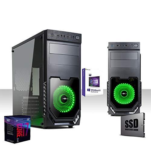 Esta computadora está equipada con tecnología moderna y alto rendimiento de última generación 8. Encontramos un potente procesador Intel i7-8700 SIX-CORE de 3.5 ghz / turbo 4.3 ghz, 16GB DDR4 2400MHZ de memoria, SSD 480 GB ESTADO SÓLIDO, Intel 630 10...