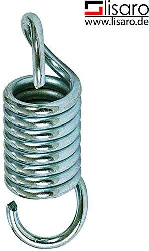 lisaro Heavy Duty Ressort de suspension Ressort en acier pour suspension de sacs de boxe de boxe antichoc sac de sable Sac de sable boxe sac de sable Accessoires 15cm de long