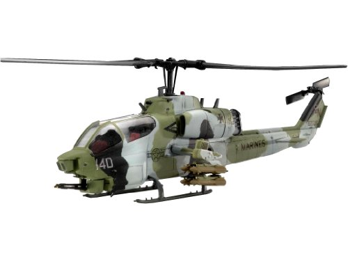 Revell AH-1W Super Cobra 1:72 Assembly kit Rotorcraft - maquetas de aeronaves (1:72, Assembly kit, Rotorcraft, AH-1W Super Cobra, Military aircraft, De plástico)