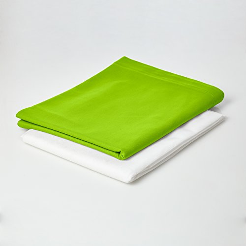 Lumaland Sitzsackhülle ohne Füllung Luxury Riesensitzsack XXL Sitzsack Bezug Hülle 100% Baumwolle 140 x 180 cm Grün