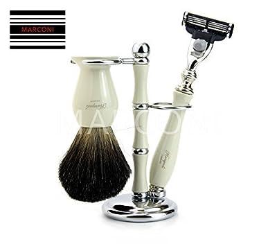 Shaving Brush Kit Razor Set Men Wet Shaver Badger Men's Christmas Gift
