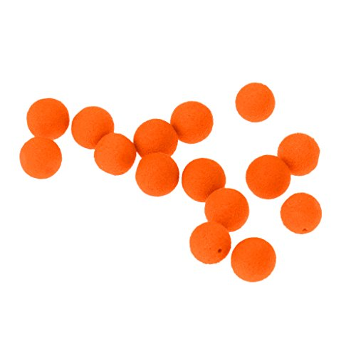 MagiDeal Boilie Box Karpfen Boilie Pop Up 8-14mm Angeln Köder Pellet Mini Mit Geschmack - Orangen-Süßkartoffel, 12mm -