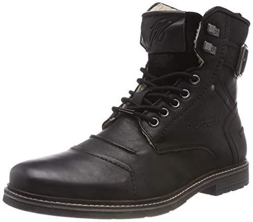 bugatti Herren 321622513200 Klassische Stiefel, (Schwarz 1000), 41 EU