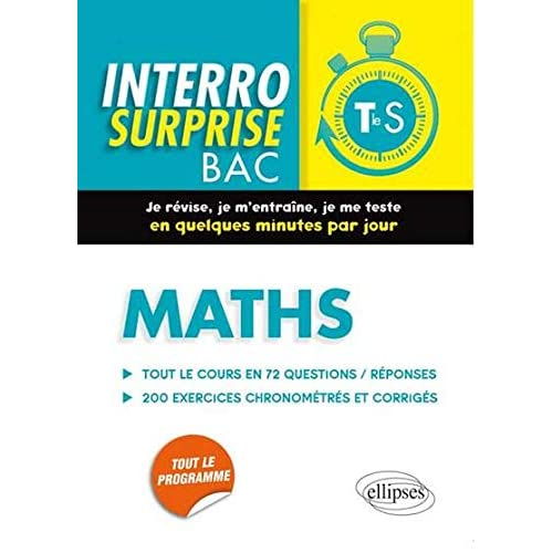 Interro Surprise Bac Maths Terminale S