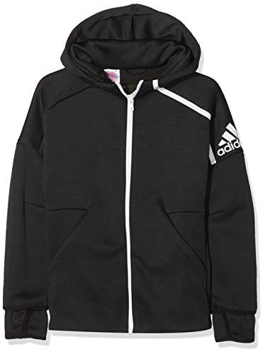 53840492a adidas Yb Zne HD 3.0 Sweatshirt, Niños, Black/White, L