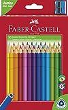 Faber-Castell 116530 - Buntstifte triangular Jumbo