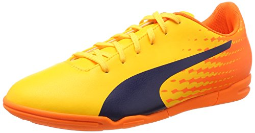 Puma Herren Evospeed 17.5 IT Fußballschuhe, Gelb (Ultra Yellow-Peacoat-Orange Clown Fish 03), 47 EU