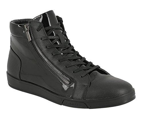 Calvin Klein Berke lea patent smooth black F0753 BLK