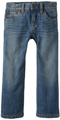 Lucky Brand Little Boys' Sherman Billy Straight Fit Jeans, Medium Classic, 4 -