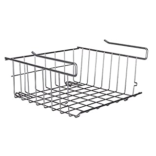 Stainless Steel Storage Rack - Cabinets/Pantry/Closets/Bedrooms-Shower Caddy/Soap Dish/Bathroom/Corner/Kitchen/Dorm Storage Frame