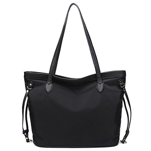 YYW Work Tote Bag, Borsa a zainetto donna Black