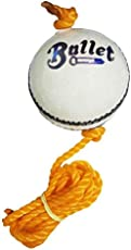 Port SP Bullet White Knocking Practice Hanging Cricket Ball (Pack Of 1)