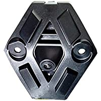 Dynavision coche Vista frontal Logo Embeded de la cámara de Front logo Renault Koleos 2014 2015 con CCD impermeable IP67 amplio grado (Medio), Negro