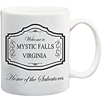 Bedruckte Tasse mit Motiv Vampire Diaries Motivtasse TVD Kaffeebecher Kaffeetasse