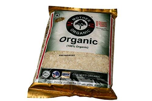 Mother Organic Sona Masoori Rice, 5kg