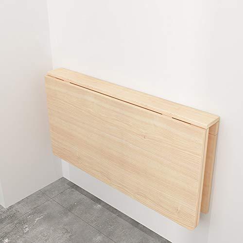 LXLA-mesa de pared abatible Mesa de Escritorio Plegable Mesa de Trabajo Estación de Trabajo Cocina Organizador de Comedor Niños Mesas de Estudio (Tamaño : 80×50cm)