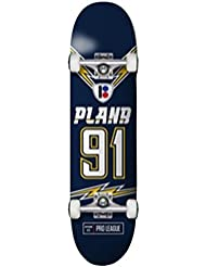 Plan B Team Charged 7.625 X 30.25, Skateboard Complet Multicolore 7,625 X 30,25