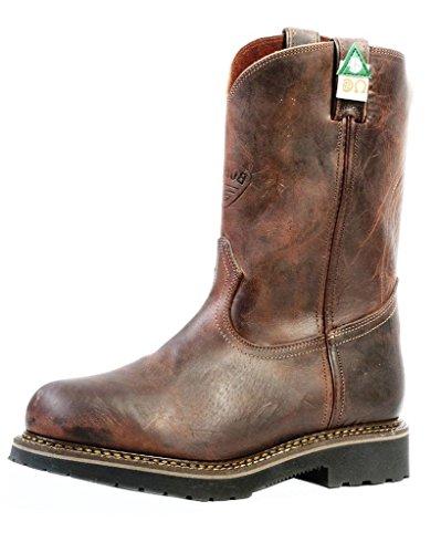 Boulet Stiefel 4383 Herren Work Boots mit Stahlkappe Braun - braun