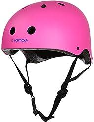 Finer Shop Escalada Ciclismo Bicicleta Bici BMX Protección Casco Equipo Seguridad - Rosa / L