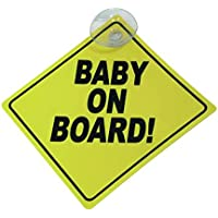 Carpoint 1710579 Schild 'Baby on board!'