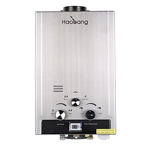 Haobang Sin tanque calentador de agua eléctrico instantáneo JSD12-S01 6L / Min 12KW (NG)
