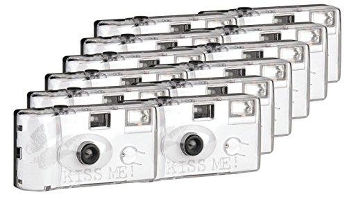 Topshot Kiss Me Einwegkamera / Hochzeitskamera 400/27 Flash (27 Fotos, Blitz, 12-er Pack)