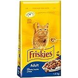 Friskies - Alimento para Gato - Seco Adulto Con Atún Y Verduras Añadidas 1,5 Kg