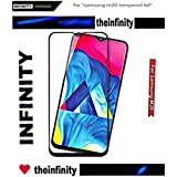 SuperdealsForTheinfinity Tempered Glass for Samsung Galaxy M20 6D Screen Protector 6D Curved Scratch Resistant for Samsung Galaxy M20 6D Screen Protector (Black)