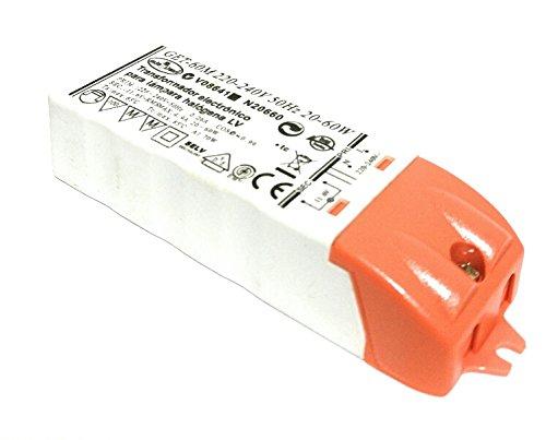 Transformador 220V a 12V para Lámparas halógenas y led