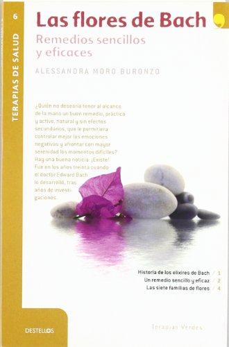 Portada del libro Las flores de Bach (Destellos) - 9788492716883