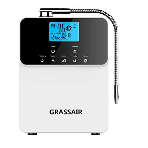 GRASSAIR 12000 litros De Agua Ionizador Purificador Máquina Ph 3,5-11 Ácido Alcalino 5 Configuración...
