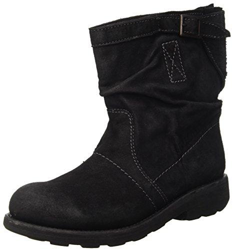 Bikkembergs Vintage 716 Low Boot W Suede, Baskets Hautes Femme Gris - Grigio (Anthracite)