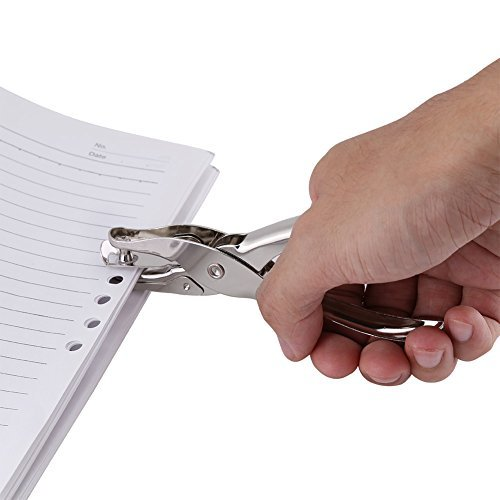 Akozon 1-Loch Circle Paper PunchCutting Werkzeug für Handwerk Scrapbooking Ticket Kennzeichnung