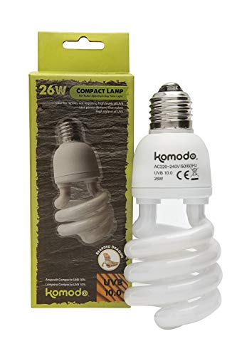 Komodo Compact Lamp Uvb 10.0 ES, 26 Watt