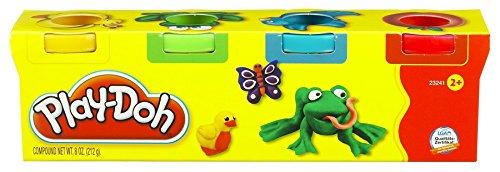 Playdoh Knete Mini (4Stück) Play-doh Rot