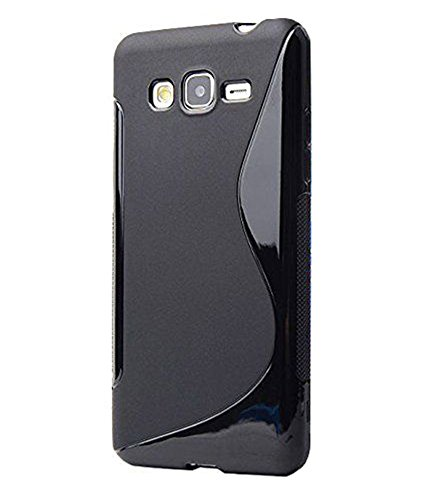 Samsung Galaxy J7 Case, Ziaon S line Slim Fit Back Cover Case for Samsung Galaxy J7 - Black
