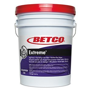 Extreme? High Power, Fast Acting, Low Odor, No-rinse Floor Stripper- 5 Gallon Pail by Betco