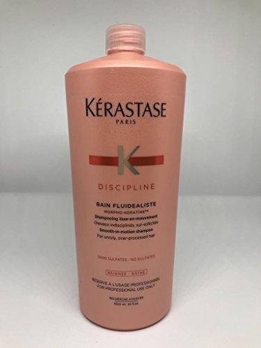 KERASTASE DISCIPLINE BAIN FLUIDEALISTE SIN SULFATO - 1000 ML.