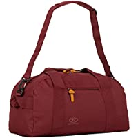Highlander Cargo Bag 30L Durable Canvas Holdall ideal for Travel or as a Sport Duffle Bag