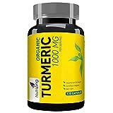 Supplément de curcuma biologique de NutriZing ~120 gellules ~ Extrait...