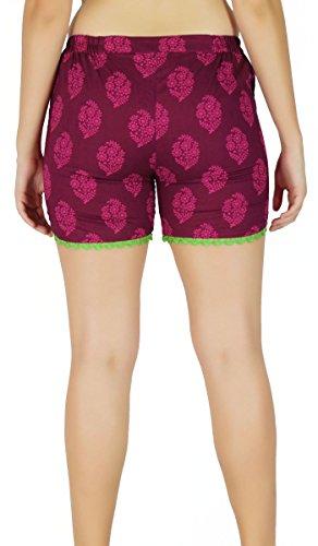 Hot Pants Vêtements D'Été Hippie Hip Hugger - Choisir La Taille Rose Et Vert