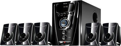 Flow Flash Bluetooth 5.1 Multimedia Speaker Home Theatre System FM USB AUX Remote and More (Black)