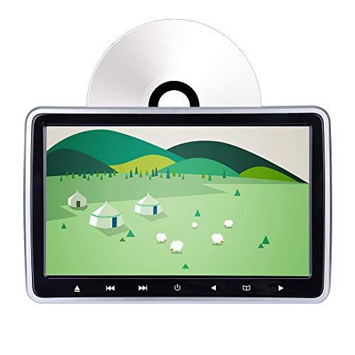 DVD-Player mit Steckplatz für die Kopfstütze - 10,1-Zoll-LCD-Monitor - HDMI-Eingang - Synchronisierungsbildschirm
