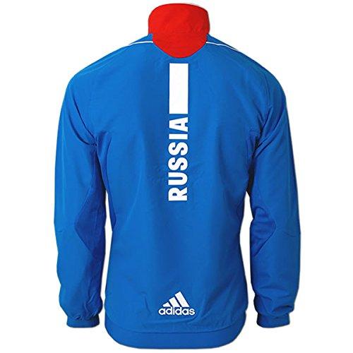 f429be05302f Herren Präsentations Jacket Team Russia Olympia Russland Teamjacke Blau -  Rot