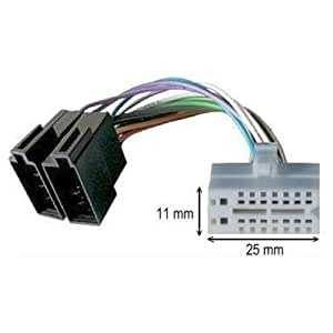Câble adaptateur ISO autoradio CLARION 16 pins