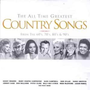 All Time Greatest Country Songs [CASSETTE]